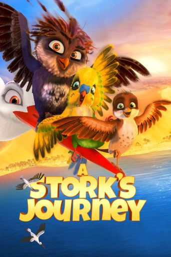 A Stork's Journey Poster