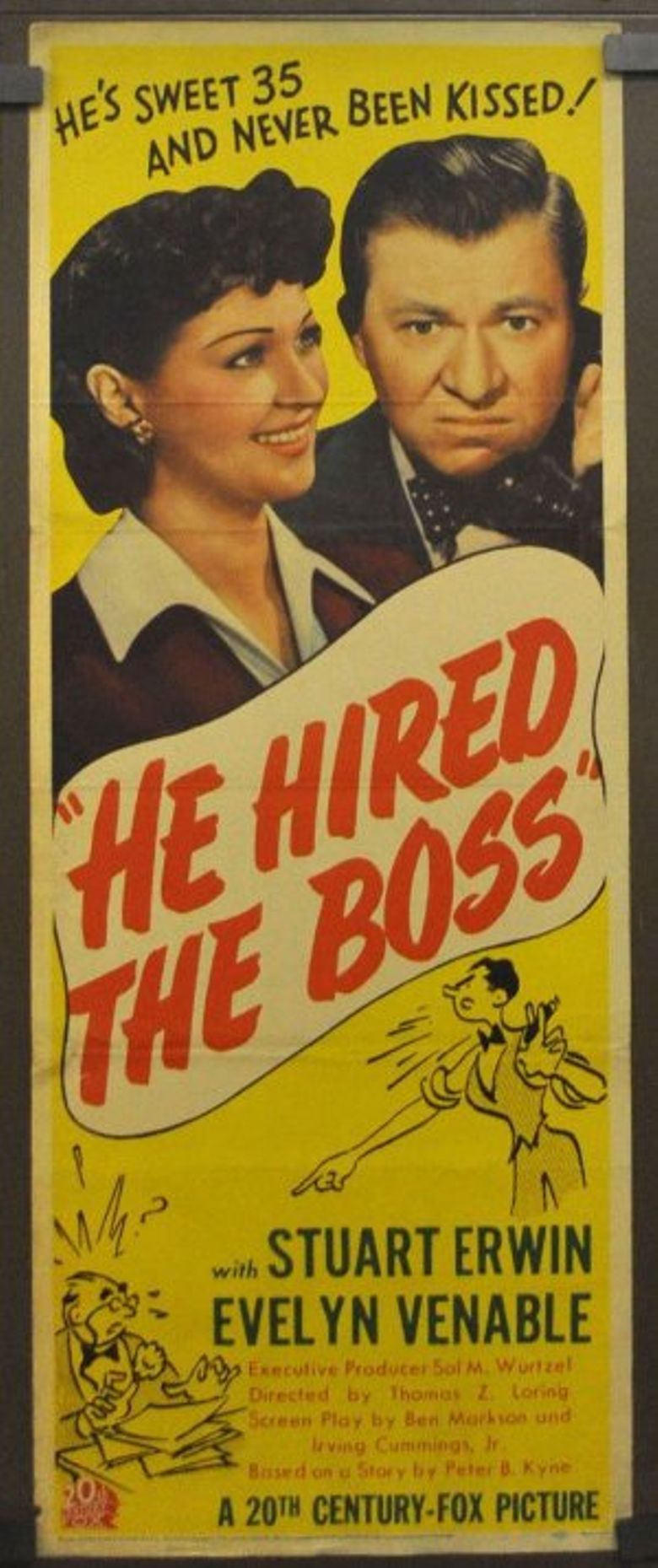 He Hired the Boss Poster