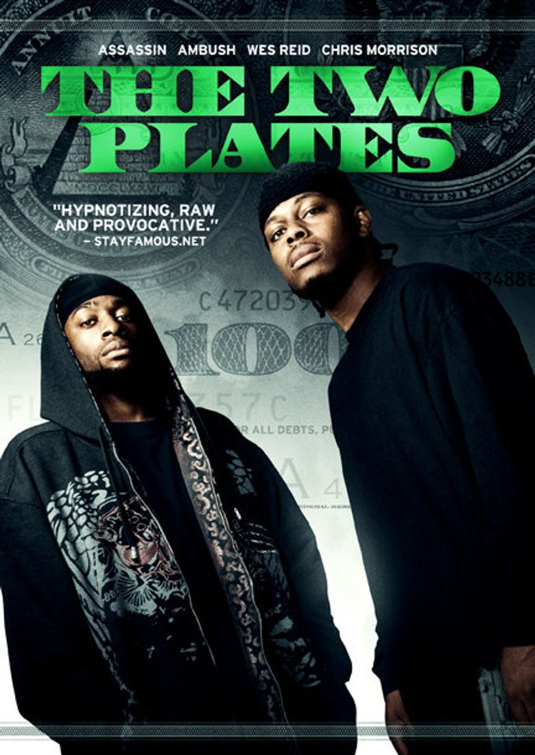 The Two Plates Poster