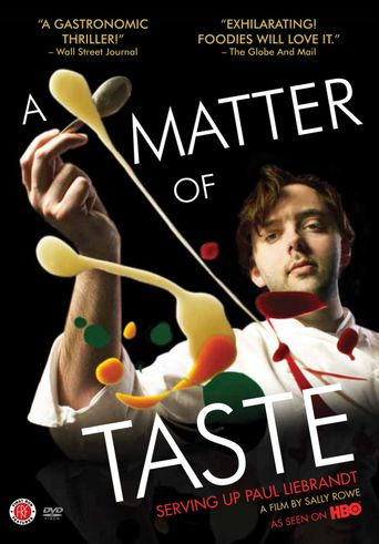 A Matter of Taste: Serving Up Paul Liebrandt Poster