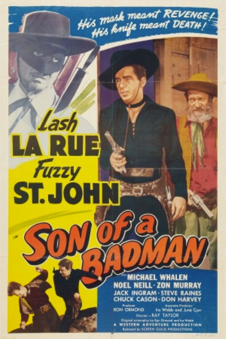 Son of a Badman Poster