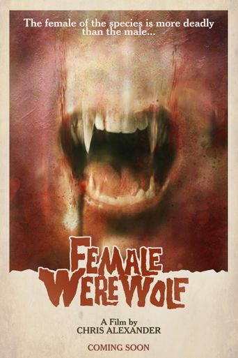 Female Werewolf Poster