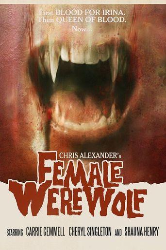 Female Werewolf Poster