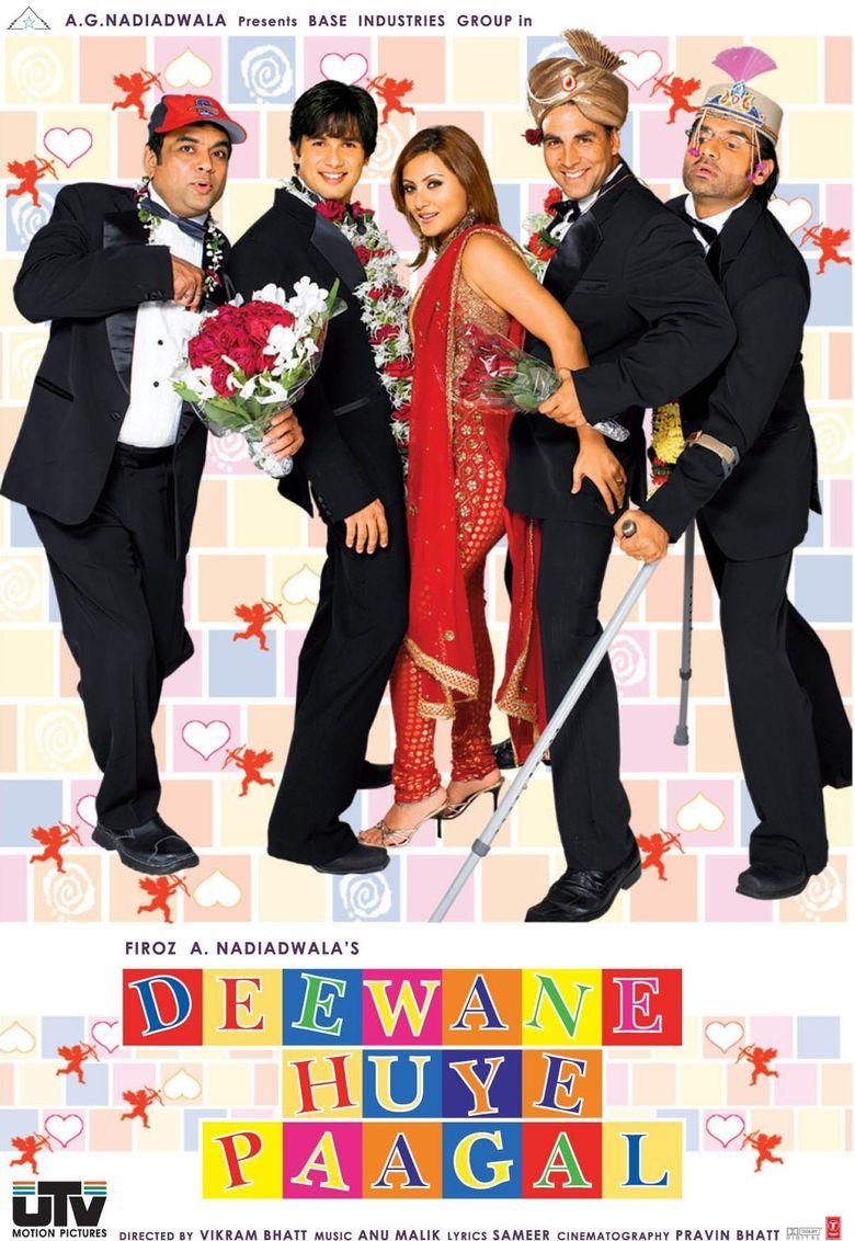 Deewane Huye Paagal Poster