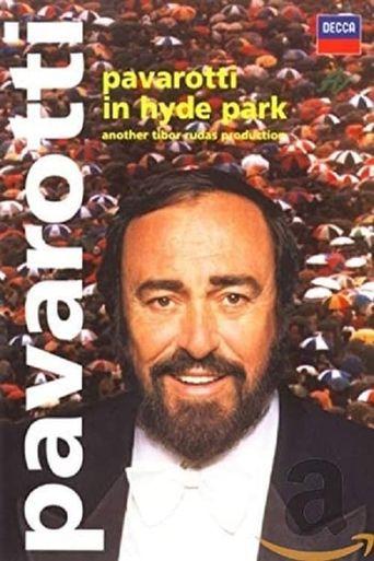 Pavarotti in Hyde Park Poster