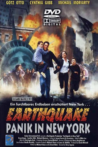 Earthquake in New York Poster