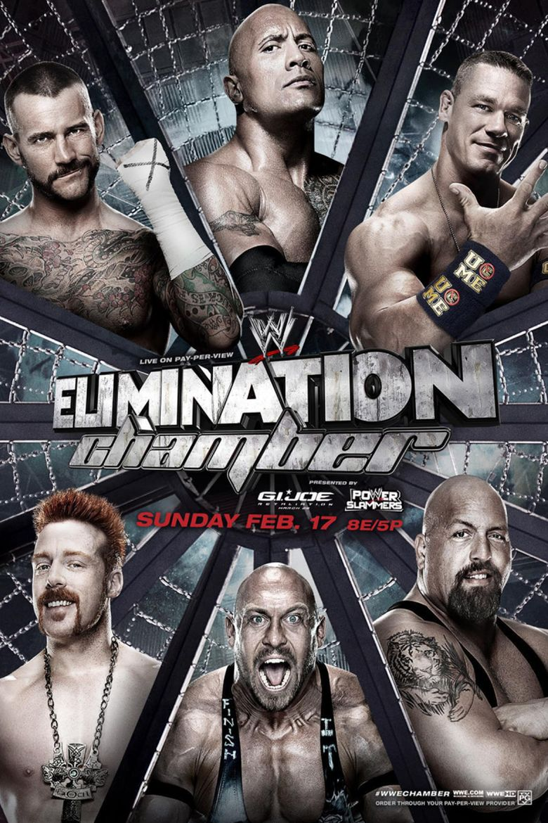 WWE Elimination Chamber 2013 Poster