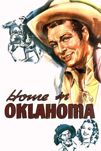 Home in Oklahoma Poster