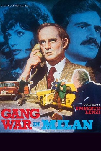 Gang War in Milan Poster