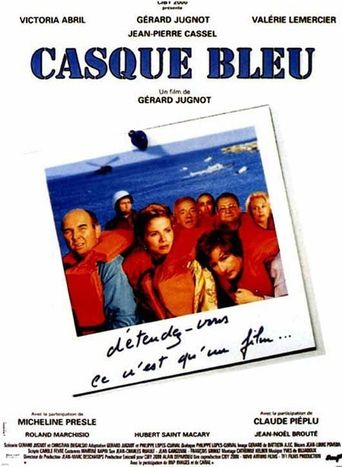 Casque bleu Poster