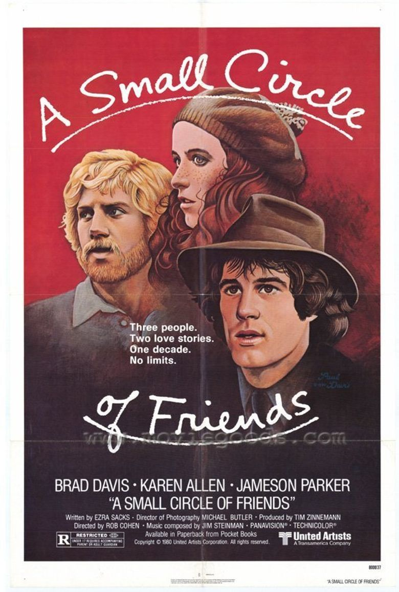 A Small Circle of Friends Poster