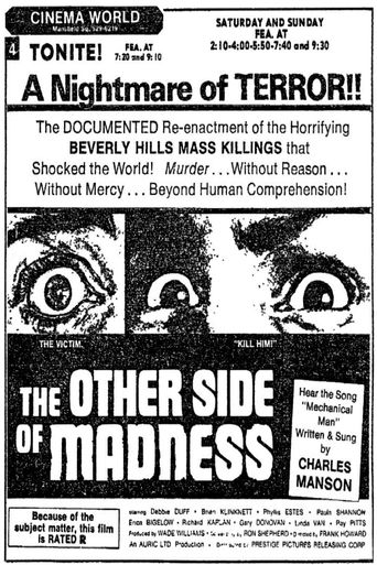 The Other Side Of Madness Poster