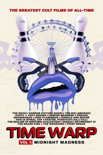 Time Warp: The Greatest Cult Films of All Time - Vol. 1: Midnight Madness Poster