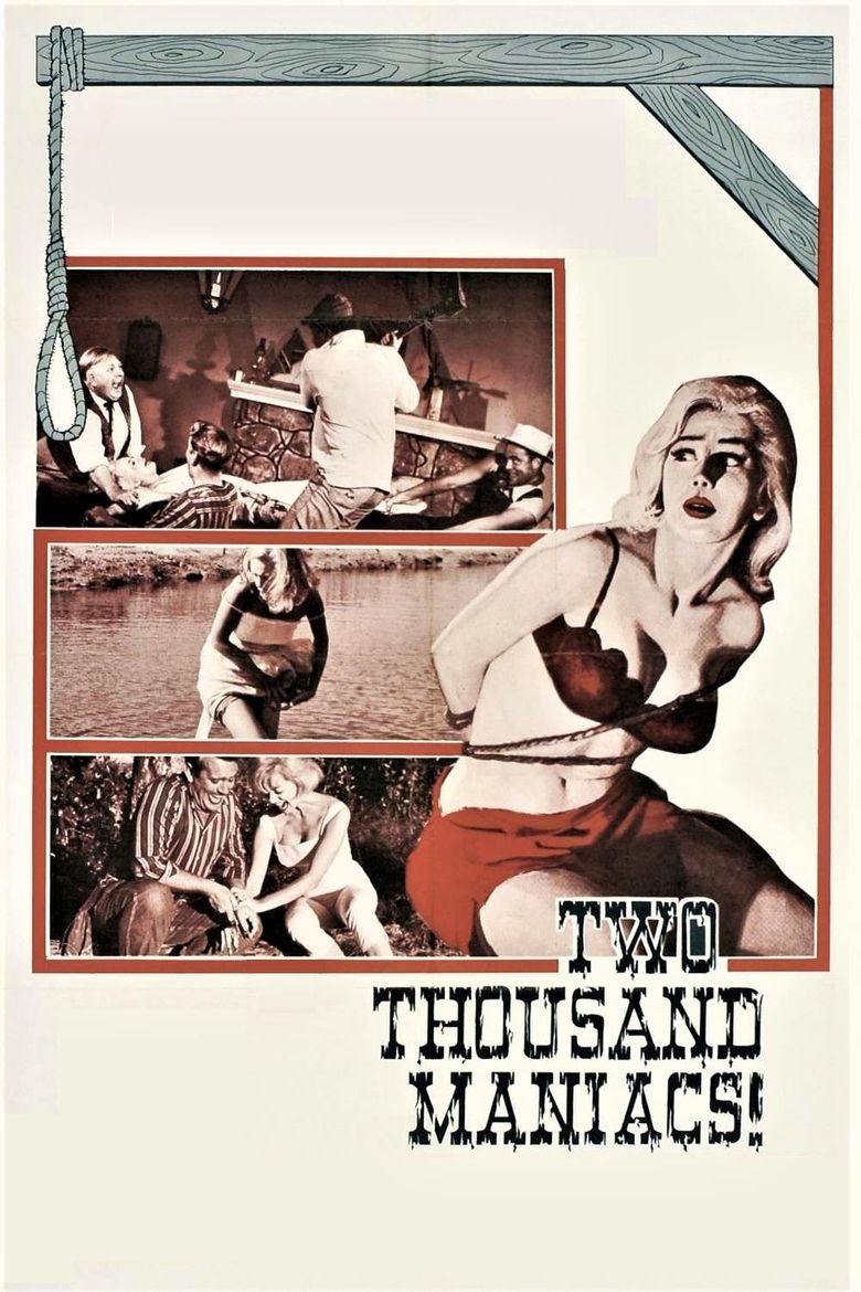 Two Thousand Maniacs! Poster