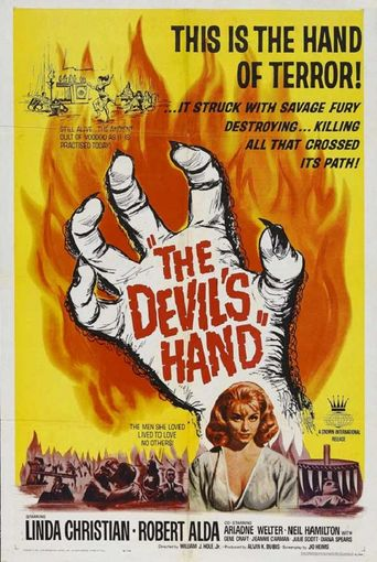 The Devil's Hand Poster