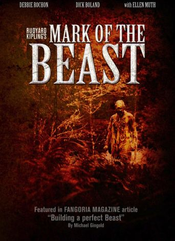 Rudyard Kipling's Mark of the Beast Poster