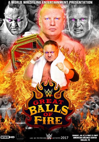 WWE Great Balls of Fire 2017 Poster