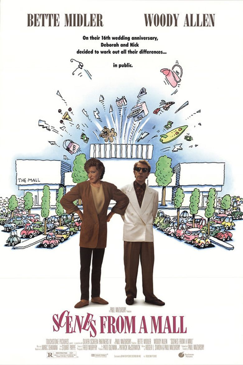 Scenes from a Mall Poster