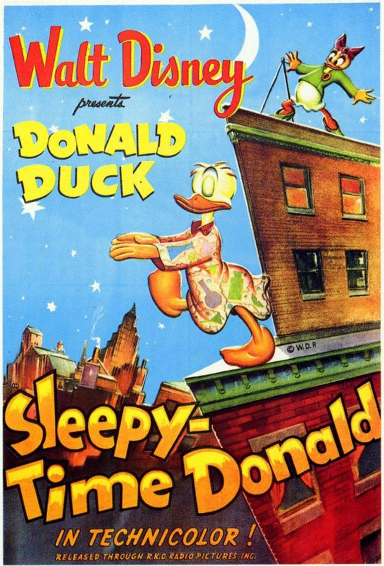 Sleepy Time Donald Poster