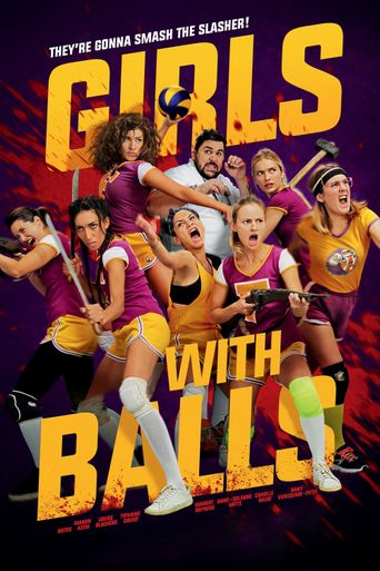 Girls with Balls Poster