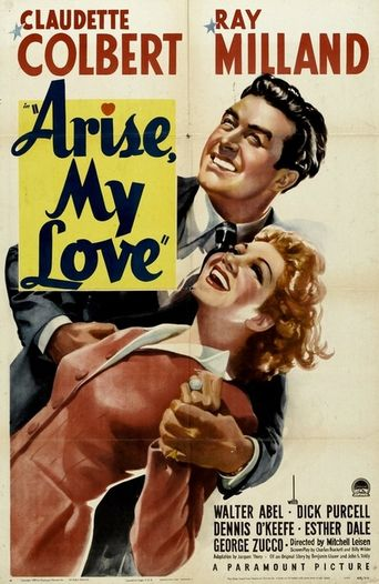 Arise, My Love Poster
