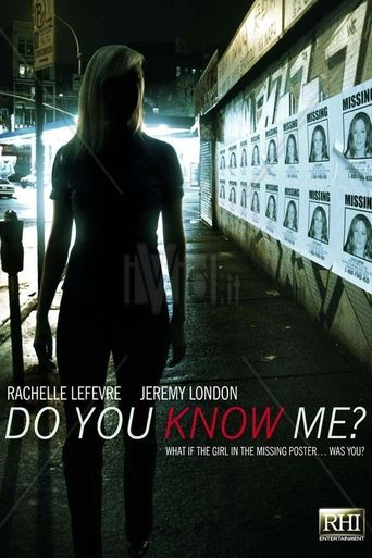 Do You Know Me Poster