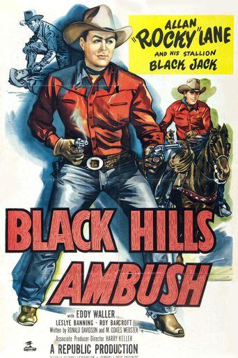 Black Hills Ambush Poster