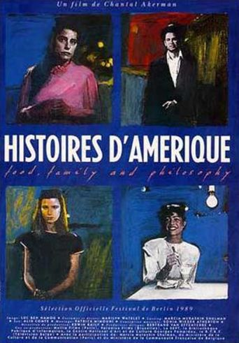 Histoires d'Amérique: Food, Family and Philosophy Poster