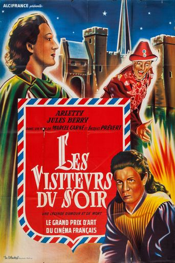 Les Visiteurs du Soir Poster