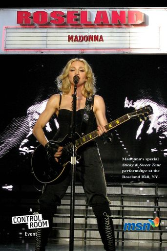 Madonna: Live from Roseland Ballroom in New York Poster