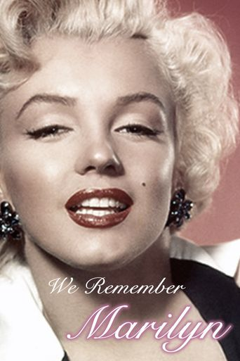We Remember Marilyn Poster