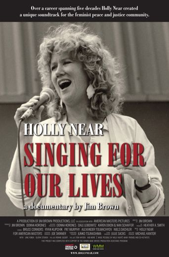 Holly Near: Singing for Our Lives Poster