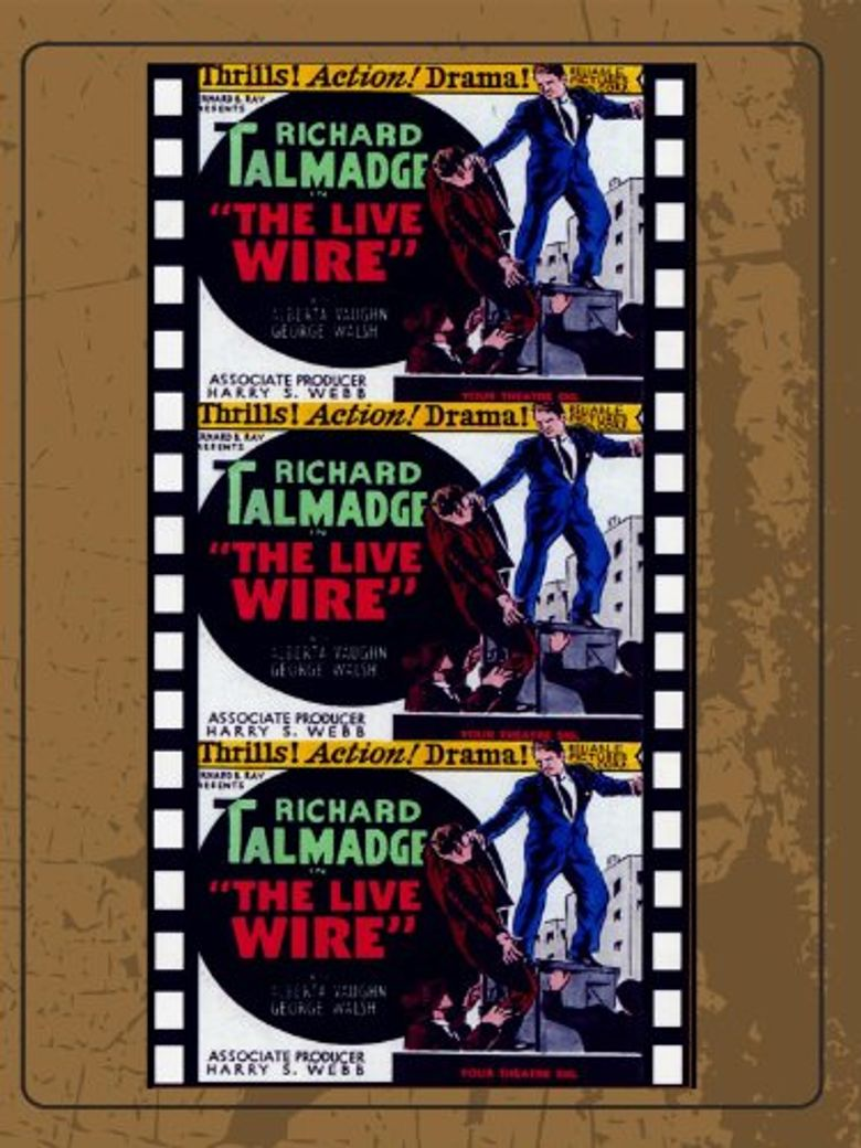 The Live Wire Poster