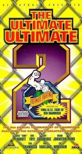 UFC 11.5 Ultimate Ultimate 2 Poster