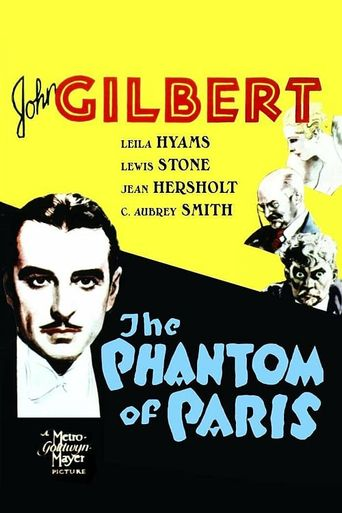 The Phantom of Paris Poster