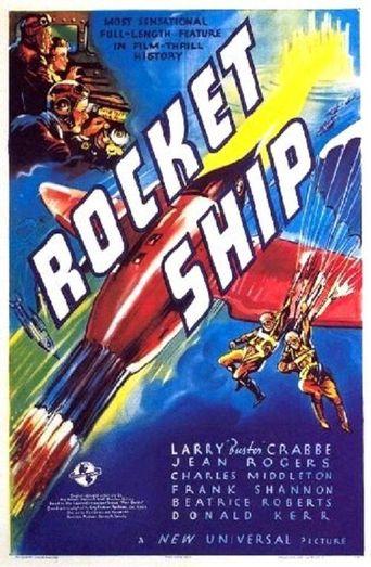 Rocket Ship Poster