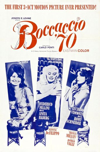 Watch Boccaccio '70
