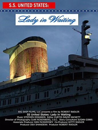 SS United States: Lady in Waiting Poster