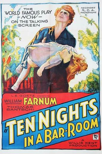 Ten Nights in a Barroom Poster