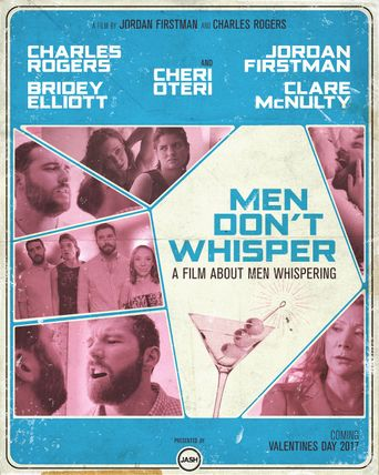 Men Don't Whisper Poster