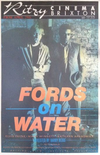 Fords on Water Poster