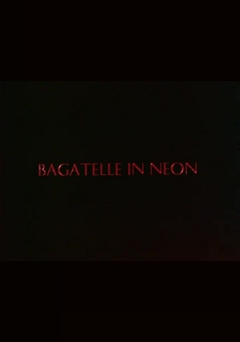 Bagatelle in Neon Poster