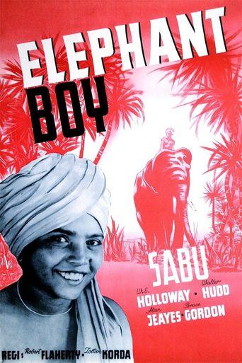 Elephant Boy Poster
