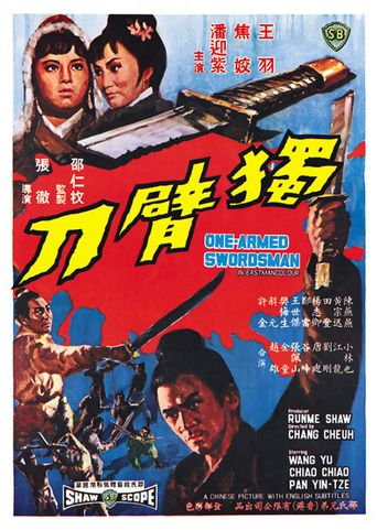 The One-Armed Swordsman Poster