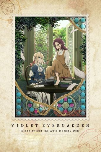 Violet Evergarden: Eternity and the Auto Memories Doll Poster