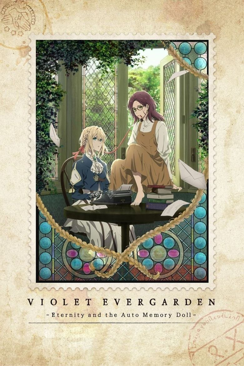 Violet Evergarden: Eternity and the Auto Memory Doll Poster