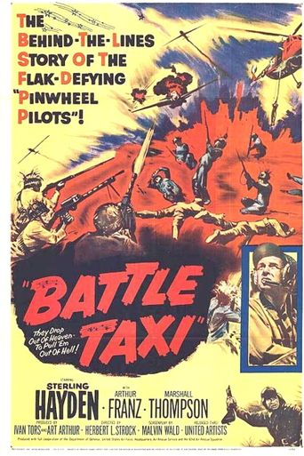 Battle Taxi Poster