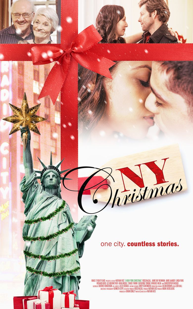 A Christmas in New York Poster