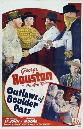 Outlaws of Boulder Pass Poster