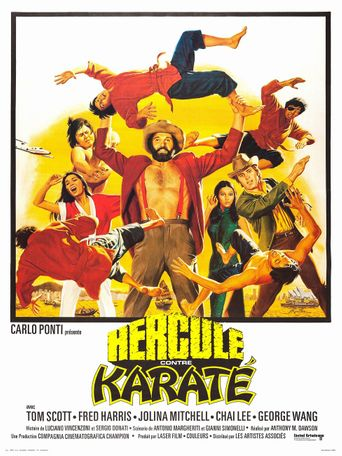 Mr. Hercules Against Karate Poster